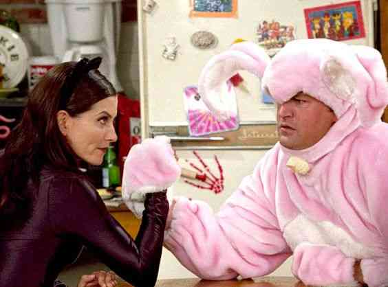 Kiedy Chandler i Monica zaczynają się umawiać
