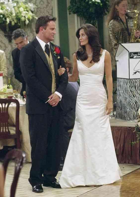 kiedy pierwszy raz łączą się Chandler i Monica randki homofilskie