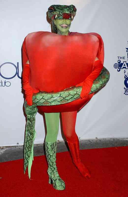 Halloween Zwanger.8 Van De Beste Halloween Kostuums Van Heidi Klum En 8 Van