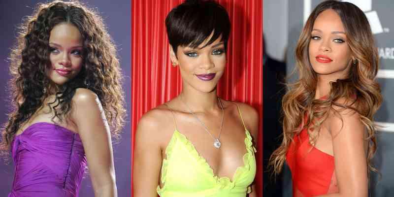 Ogolila je grudi i odjenula korzet s lancima sličan onomu kakav Rihanna nosi.